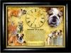 Часы настенные Английский бульдог